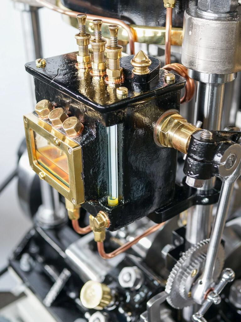 Zylinderschmierung Dampfmaschine